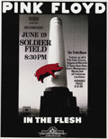 Music Memorabilia:Posters, Pink Floyd Soldier Field Concert Poster (Danny Kresky Enterprises,1977). Here's a seldom-seen poster from the beginning of ...