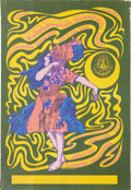 "Music Memorabilia:Posters, Quicksilver Messenger Service ""Swirl Dance"" Avalon Concert PosterFD-42 (Family Dog, 1966). Here's another very early poster..."