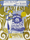"Music Memorabilia:Posters, Quicksilver Messenger Service FLUXFEST Concert Poster (FluxusInternational Presents, 1967). Much like Timothy Leary's ""Acid..."