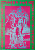 """Music Memorabilia:Posters, Otis Rush Matrix Concert Poster NR-8 (Matrix, 1967). This is posternumber eight in artist Victor Moscoso's famed """"Neon Rose..."""