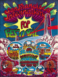 Music Memorabilia:Posters, San Francisco International Pop Festival Poster (Top StarProductions, 1968). Only $10 to see all these bands in two days?...