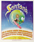 Music Memorabilia:Posters, Santana Soundproof Productions Avalon Concert Poster (1969) One ofthe toughest to get posters from the Soundproof Productio...