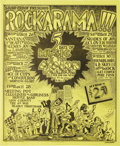 Music Memorabilia:Posters, Santana Rockarama Concert Poster (Soundproof Productions, 1969). Anincredible poster for a five day event at San Francisco...