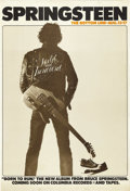 "Music Memorabilia:Posters, Bruce Springsteen Bottom Line Concert Poster (Columbia Records,1975). The phrase ""The Boss is Back"" began right here. After..."