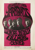 "Music Memorabilia:Posters, Yardbirds/Country Joe and the Fish ""One Sunday Afternoon"" FillmoreConcert Poster BG-33 (Bill Graham Presents, 1966). The hi..."