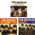 "Music Memorabilia:Recordings, Beatles Picture Sleeve Group of 3 (Capitol, 1965). Very nicepicture sleeves and discs from 1965: ""Eight Days A Week""/ ""I Do..."