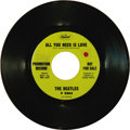 """Music Memorabilia:Recordings, Beatles """"All You Need Is Love"""" Promo 45 Capitol 5964 (1967). Justfour promo Beatles singles were released by Capitol, inclu..."""