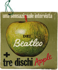 Music Memorabilia:Recordings, Beatles and Others Italy-Only 45 Four Pack Apple (1968). Rare package that featured four early Apple recordings and came in ...
