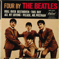 "Music Memorabilia:Recordings, ""Four By The Beatles"" EP Capitol 2121 (1964). The Beatles' firstCapitol EP included ""Roll Over Beethoven"", ""This Boy"", ""All..."