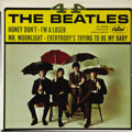 """Music Memorabilia:Recordings, Beatles """"4-By The Beatles"""" EP Capitol 5365 (1965). The Fab Four'ssecond commercial EP for Capitol featured songs from their..."""