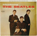 """Music Memorabilia:Recordings, """"Introducing the Beatles"""" Stereo Title Back LP Vee-Jay 1062 (1964).The selections had been recorded as early as two years p..."""