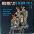 "Music Memorabilia:Recordings, ""The Beatles & Frank Ifield On Stage"" Portrait Cover Mono LPVee-Jay 1085 (1964). Just four Beatles songs on this 12-song al..."
