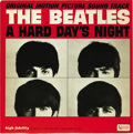 "Music Memorabilia:Recordings, Beatles ""A Hard Day's Night"" Soundtrack LP United Artists 3366 Mono(US, 1964). From a chart success perspective, this was t..."