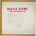 "Music Memorabilia:Recordings, Beatles ""Beatle-Views"" LP Beatle Views 1966 (1966). This 1966 tourinterview album is the hardest to find of all the Beatles..."