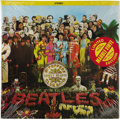 """Music Memorabilia:Recordings, Beatles """"Sgt. Peppers Lonely Hearts Club Band"""" Sealed Color VinylLP Capitol 11840 (Canada, 1977). Still sealed limited edit..."""