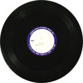 """Music Memorabilia:Recordings, Beatles """"Chains"""" Acetate Screen Gems-Columbia (1962). ScreenGems-Columbia had the publishing rights to """"Chains"""", first reco..."""