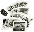 "Music Memorabilia:Photos, Rare Photos of Beatles in Dallas with Camera. This set of 23unpublished b&w 8"" x 10"" photos was taken by then-16-year-oldf..."