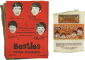 Music Memorabilia:Memorabilia, Beatles Brand Nylon Stockings and Ice Cream Packaging (circa 1964) When the Beatles finally hit it big in the United States,... (Total: 2 )