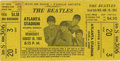 Music Memorabilia:Tickets, Beatles Atlanta Stadium Concert Ticket. Many of the venues theBeatles played at during the summer of '65 had sub-par sound ...