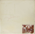 Music Memorabilia:Autographs and Signed Items, John Lennon Signed White Album Cover. Most often referred to asThe White Album and released at the height of the Beatle...