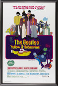 Music Memorabilia:Posters, Beatles Yellow Submarine One-Sheet Poster, Signed by HeinzEdelmann, 223/500 (1999). What a wonderful item! The 1968 animat...