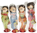 "Music Memorabilia:Toys, Beatles ""Sgt. Pepper"" Plush Dolls, Set of Four. Released byApplause in 1987 to celebrate the 20th anniversary of the Beatle..."