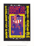 Music Memorabilia:Posters, The Beatles Candlestick Park Concert Reissue Poster Signed byRonnie Spector, 70/200 (Art Rock, 1992). The Beatles performed...