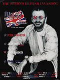 Music Memorabilia:Posters, Ringo Starr and His All Starr Band Signed Tour Poster (Roccabella,1997). From the Ringed One's fourth All Starr line-up com...