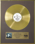 "Music Memorabilia:Awards, John Lennon ""Double Fantasy"" CRIA Gold Album Award. Presented tothen-newly formed Geffen Records by the Canadian Recording ..."