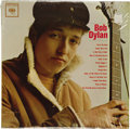 "Music Memorabilia:Recordings, ""Bob Dylan"" Sealed LP Columbia CL-1779 Mono. Here's a perfectly preserved mono copy of Dylan's 1962 self-titled debut album;..."