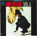 "Music Memorabilia:Recordings, Bob Dylan ""Bob Dylan Vol. 4"" LP CBS 641 (Japan, 1966). This was thefourth of a limited Japanese series of Dylan releases. I..."