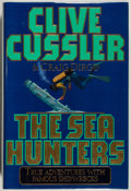 Books:Mystery & Detective Fiction, Clive Cussler. SIGNED. The Sea Hunters. Simon &Schuster, 1996. Signed by the author. Fine....