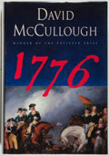 Books:Americana & American History, David McCullough. SIGNED. 1776. Simon & Schuster, 2005.Signed by the author. Fine....
