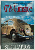 "Books:Mystery & Detective Fiction, Sue Grafton. SIGNED. ""G"" is for Gumshoe. Henry Holt, 1990.Signed by the author. Fine...."
