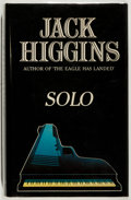 Books:Mystery & Detective Fiction, Jack Higgins. SIGNED. Solo. Collins, 1980. Near fine....