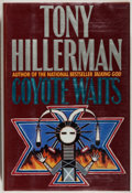 Books:Mystery & Detective Fiction, Tony Hillerman. SIGNED. Coyote Waits. Harper, 1990. Signedby the author. Original color drawing by Ernest Frankli...