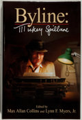 Books:Mystery & Detective Fiction, Mickey Spillane. SIGNED/LIMITED. Byline. Crippen & Landru, 2004. Limited to 250 numbered and signed copies. As n...