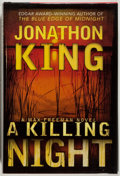 Books:Mystery & Detective Fiction, Jonathon King. SIGNED. A Killing Night. Dutton, 2005. Signedby the author. Fine....