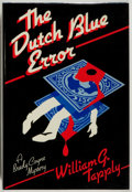 Books:Mystery & Detective Fiction, William G. Tapply. The Dutch Blue Error. Scribners, 1984.Fine....