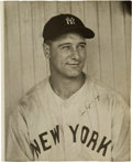 Autographs:Photos, Late 1930's Lou Gehrig Signed Photograph....