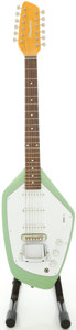 Musical Instruments:Electric Guitars, Phantom 12-String Green Solid Body Electric Guitar, Serial#J82507USA....
