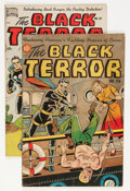 Golden Age (1938-1955):Superhero, The Black Terror #26 and 27 Group (Nedor Publications, 1949) Condition: Average GD/VG.... (Total: 2 Comic Books)