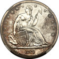 Gobrecht Dollars, 1839 P$1 Name Omitted, Judd-104 Restrike, Pollock-116, R.3, PR63Cameo NGC....