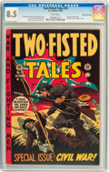 Golden Age (1938-1955):War, Two-Fisted Tales #35 Gaines File pedigree #6/11 (EC, 1953) CGC VF+8.5 White pages....
