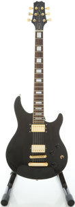 Musical Instruments:Electric Guitars, Peavey Signature Series Black Solid Body Electric Guitar,#7418226284....