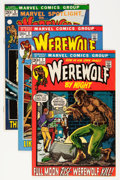 Bronze Age (1970-1979):Horror, Werewolf by Night Group (Marvel, 1972-75) Condition: AverageFN+.... (Total: 11 Comic Books)
