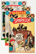 Golden Age (1938-1955):Miscellaneous, Sparkler Comics #97-120 Group (United Features Syndicate, 1951-54) Condition: Average VG.... (Total: 25 Comic Books)