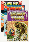 Bronze Age (1970-1979):Horror, Swamp Thing Group (DC, 1972-76) Condition: Average VG/FN....(Total: 16 Comic Books)