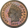 Proof Indian Cents, 1877 1C PR66 Red and Brown PCGS. CAC....