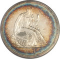 Proof Seated Dollars, 1861 $1 PR64 Cameo NGC....